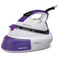See more information about the Morphy Richards Power Steam Intellitemp Steam Generator 2.6KW - Purple