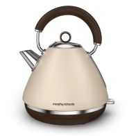 See more information about the Morphy Richards 1.5 Litre Pyramid Premium Kettle 3KW - Sand