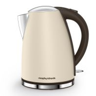 See more information about the Morphy Richards 1.7 Litre Accents Jug Kettle 3KW - Sand