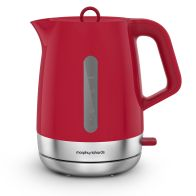 See more information about the Morphy Richards 1.5 Litre Chroma Kettle 3KW - Poppy Red