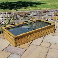 See more information about the Wooden Aquatic Garden Planter