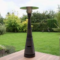 See more information about the Maze Rattan Gas Patio Heater - Brown