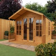 See more information about the Mercia 8 x 8 Wessex Double Door Shiplap Apex Summerhouse