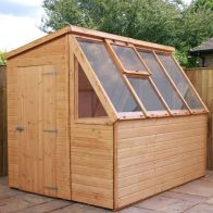 See more information about the Mercia 8 x 6 Potting Shiplap Pent Shed