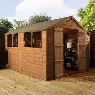 See more information about the Mercia 10 x 8 Garden Shiplap Apex Shed