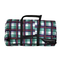See more information about the Jumbo 3 x 4M Picnic Blanket (Green & Blue Check Patten)