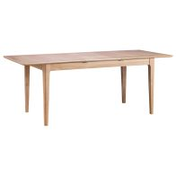 See more information about the Bayview Extending Dining Table Oak 6 Seater