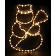 See more information about the Warm White Outdoor Snowman Rope Light Decoation Mains 40x47cm