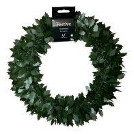 Tinsel Wreath - Green Holly
