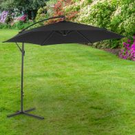 See more information about the Bentley 3M Black Hanging Banana Crank Parasol
