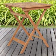 See more information about the Charles Bentley FSC Eucalyptus Hardwood Square Folding Side Table