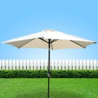 See more information about the Bentley 2.7M Beige Metal Crank & Tilt Parasol