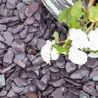 See more information about the Blue Decorative Slate Chippings 40mm 900kg Bulk Bag