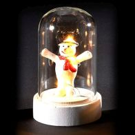 See more information about the 6 LED Glassware Dome Figure Snowman Open Arms