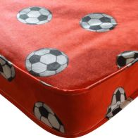 See more information about the Kidsaw Football Single 3ft Mattress Red