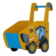 See more information about the JCB Toy Box Yellow Push Along