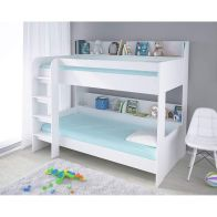 See more information about the Kudl Single Bunk Bed White