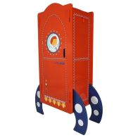 See more information about the Kudl Wardrobe Red 2 Door