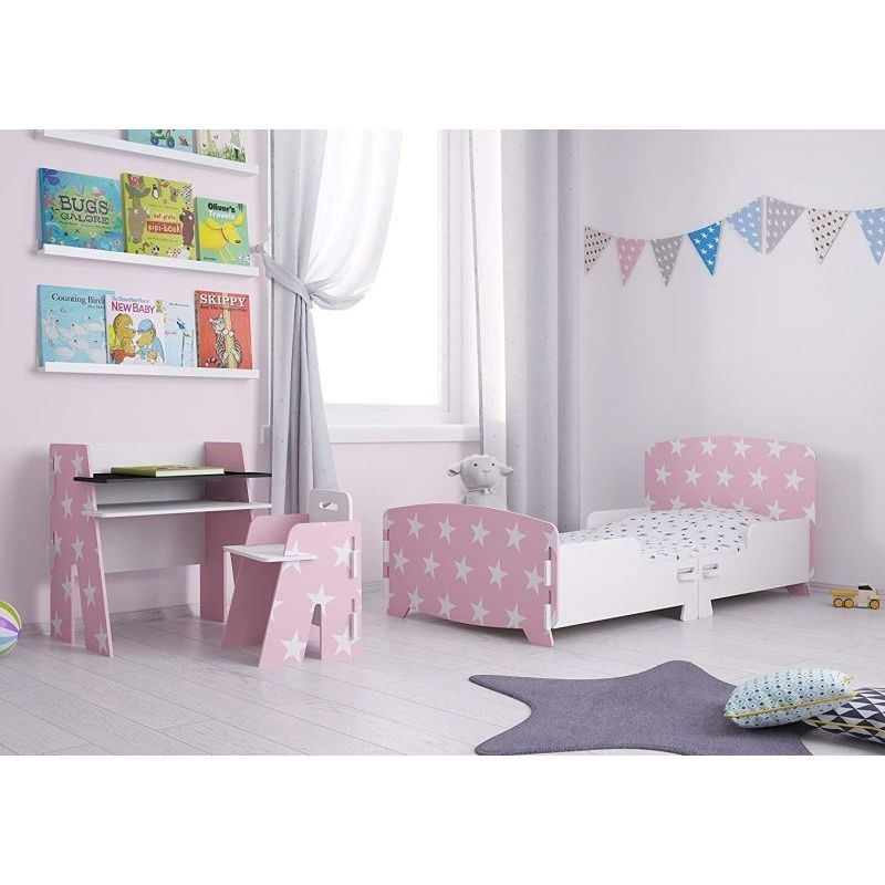 Buy Stars Toddler Bed Pink Online At Cherry Lane