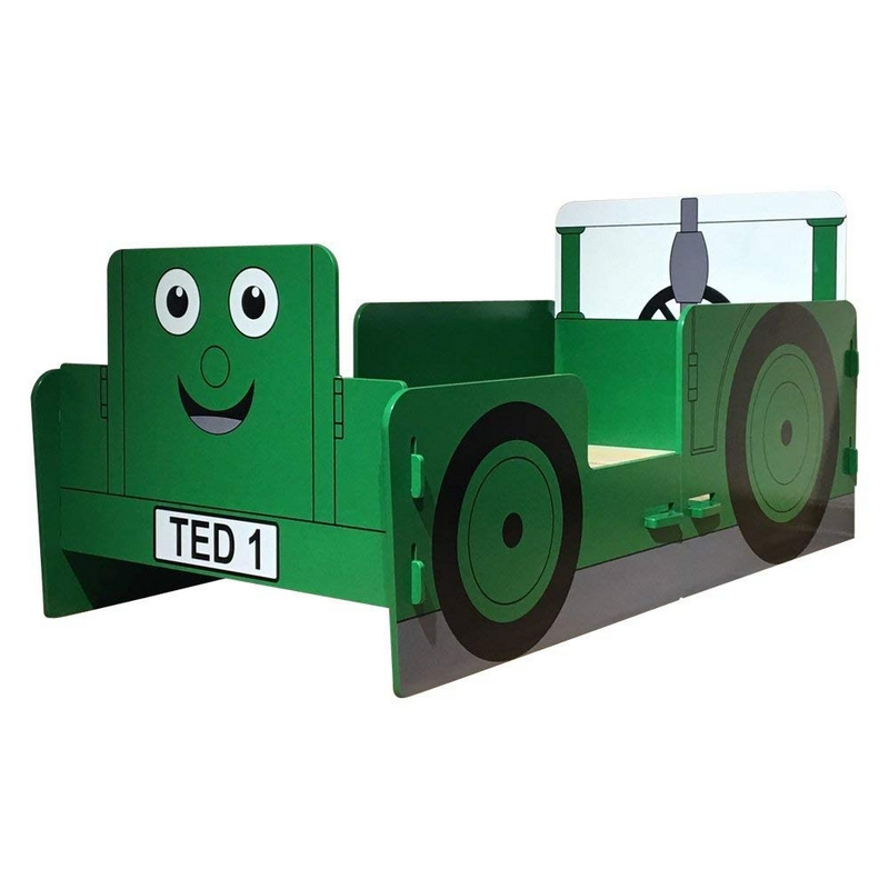 Buy Tractor Toddler Bed Green - Online at Cherry Lane
