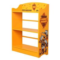 See more information about the JCB Bookcase Yellow 3 Shelf