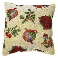 See more information about the 43x43cm Christmas Decorations Tapestry Cushion