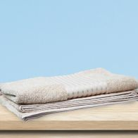 See more information about the Large Cotton Beige Bath Towel 90 x 135cm