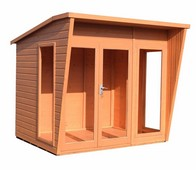 See more information about the Shire Highclere Shiplap Garden Summerhouse 8' x 6'