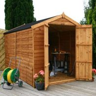 See more information about the Mercia 10 x 6 Overlap Apex Shed - Windowless