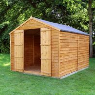See more information about the Mercia 10 x 8 Overlap Apex Shed - Windowless
