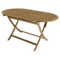 See more information about the Charles Bentley FSC Acacia Hardwood Oval Table