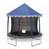 See more information about the Jumpking 8ft Trampoline Tent Canopy Stars (Trampoline Not Included)