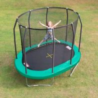 See more information about the Jumpking Oval 7 x 10ft Trampoline Safety Net & Pad