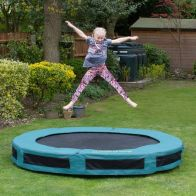 See more information about the Jumpking Classic Round Inground 8ft Trampoline Safety Net & Pad