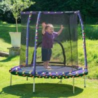 See more information about the Jumpking Kids My First 55in Trampoline Safety Net & Pad Space