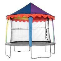 See more information about the Jumpking 8ft Trampoline Tent Canopy Circus (Trampoline Not Included)