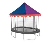See more information about the Jumpking Oval 7 x 10ft Trampoline Tent Canopy Circus