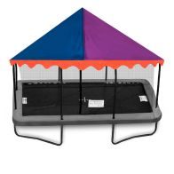 See more information about the Jumpking 6 x 9ft Trampoline Canopy Circus (Trampoline Not Included)