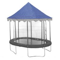 See more information about the Jumpking Oval 7x10ft Trampoline Canopy Stars (Trampoline Not Included)