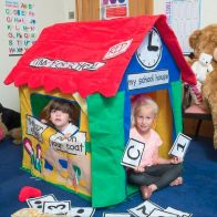 See more information about the Jumpking Bazoongi Kids Playhouse Learning Cottage