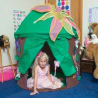 See more information about the Jumpking Bazoongi Kids Play Tent Woodland Fairy Hut