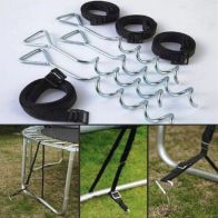 See more information about the Jumpking Deluxe Trampoline Tie Down Kit