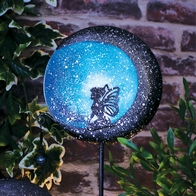 See more information about the Bright Garden Fairytale Metal Solar Stake Light - Blue