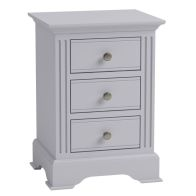 See more information about the Banbury Large Bedside Table Grey