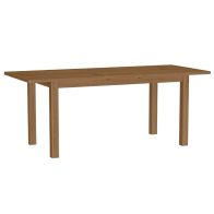 See more information about the Rutland Oak 1.6M Extending Dining Table Rustic