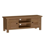 See more information about the Rutland Oak Large TV Unit Rustic
