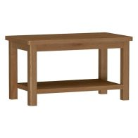 See more information about the Rutland Oak Small Coffee Table Rustic