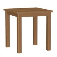 See more information about the Rutland Oak Fixed Top Dining Table Rustic