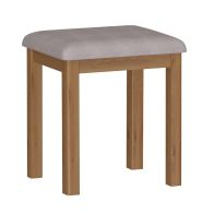 See more information about the Rutland Oak Dressing Table Stool Rustic