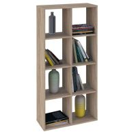 See more information about the Kudl Bookcase 8 Shelf Oak Style